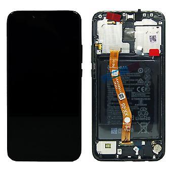 Huawei afficher unité LCD + cadre 20 Lite Service Pack 02352DKK noir mate nouveau
