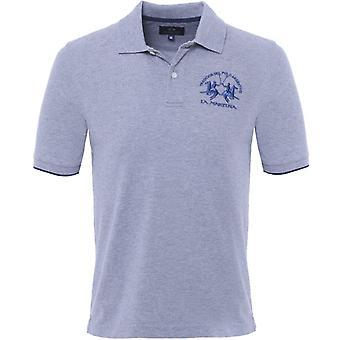 La Martina Plain Polo Shirt