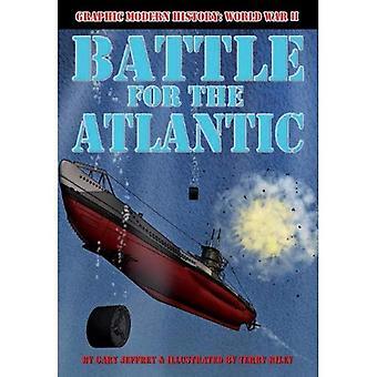 Battle for the Atlantic (Graphic Modern History: World War II (Crabtree))