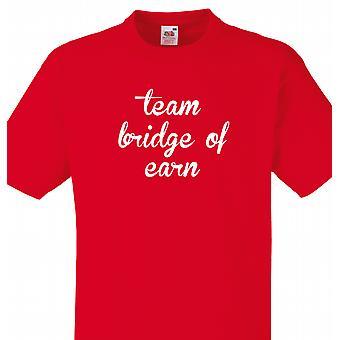 Ponte di team di guadagnare Red T-shirt