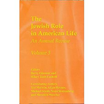 The Jewish Role in American Life: 3