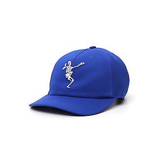 Alexander Mcqueen 507067q5yb04367 Men's Chapéu de Poliéster Azul