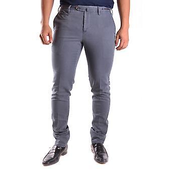 Pt01 Ezbc084031 Men's Grey Cotton Pants