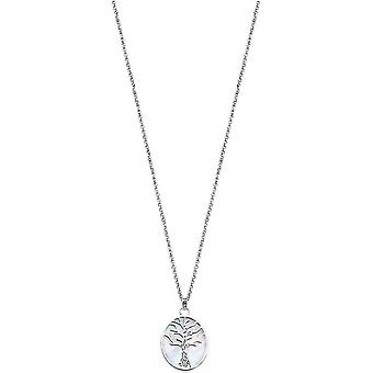 Necklace and pendant Lotus Silver TREE OF LIFE LP1679-1-1 - necklace and pendant TREE OF LIFE money woman