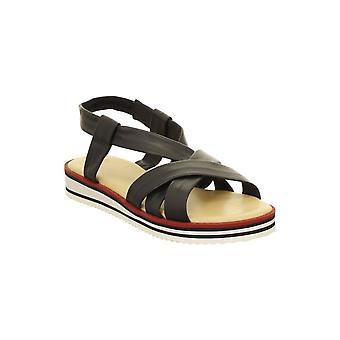 Ara płaskie sandały obcas elastyczny pasek - 14726