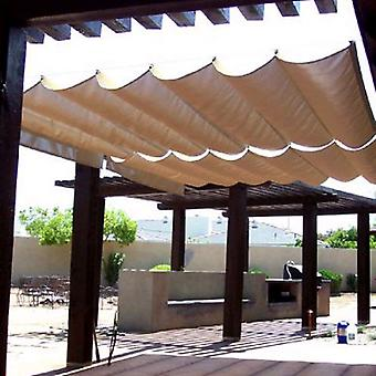 Modern Home Sail Roman Shade - Wave Sail
