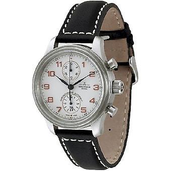 Zeno-watch Herre ur NC retro chronograph Bicompax 9557BVD-f2