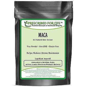 MACA-4:1 natuurlijke gele Peruaanse wortel extract poeder (Lepidium meyenii)