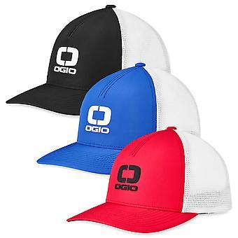 Ogio Shadow Badge Mesh Flexfit Golf Stretch Breathable Performance Cap