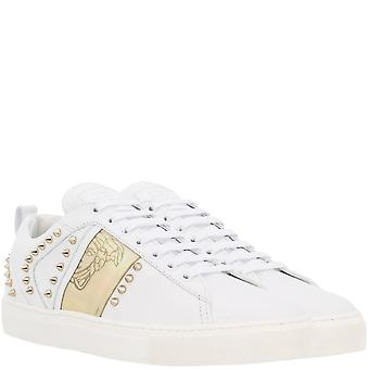 Versace Collection Gold Studded Trainer
