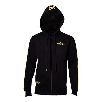 Difuzed Fallout 76-Vault-Tec zip-hoodie man large-geel/zwart