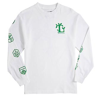 Lrg Common Ground L/S Tee White