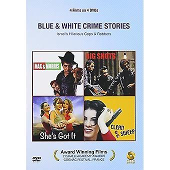 Blue & White Crime Stories [DVD] USA import