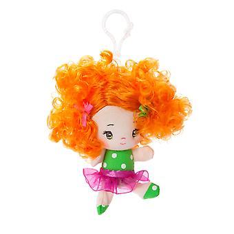 Aurora-Welt 4-Zoll-Cutie locken Abby Rucksack Clip