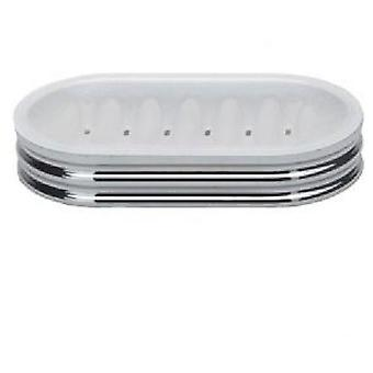 Tatay Fragrance Jabonera Ii Translucido (Bathroom accessories , Soap dish and dispensers)