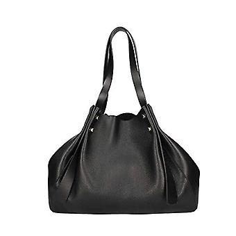 Borbonese Aspen Bag Medium Black Women's Shoulder Bag 40x31x17.5 cm (W x H x L)