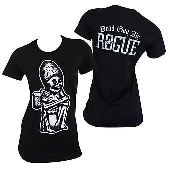 Dead Guy Rogue Women's Black Tee Shirt