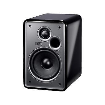 Heco musik farver 100, 2-vejs reol højttaler design, * sorte *, 1 par, nye varer