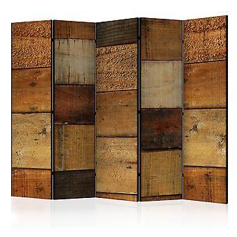 Cameră divider-texturi din lemn [separatoare cameră]
