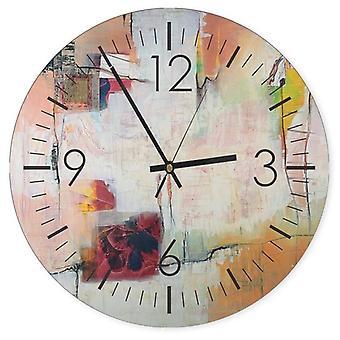 Reloj decorativo con imagen, abstracción 2