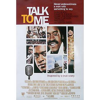 Sprechen Sie mit mir (doppelseitig regelmäßig) Original Kino Poster