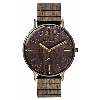 WeWood Albacore Gun Black Oak | Wood strap | 70370070000 Watch