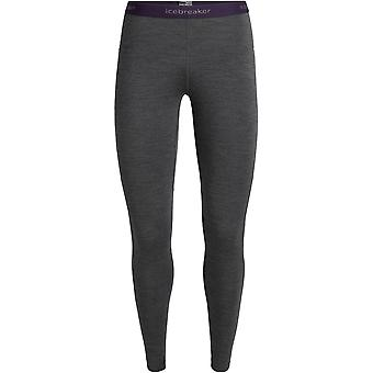 Icebreaker Women's 200 Zone Leggings - Jet Heather