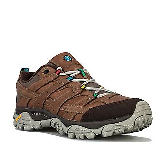 Womens Merrell Moab 2 Earth Day Hiking Trainers In Falcon