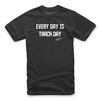 Alpinestars Track Day Kurzarm T-Shirt in schwarz
