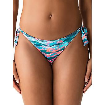 New Wave Mid Rise Tie Side Bikini Brief