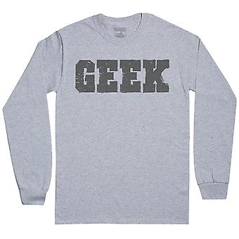 GEEK-mens lange mouw T-shirt