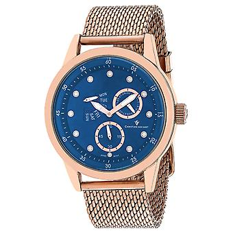 Christian Van Sant Uomo's Rio Blue Dial Watch - CV8715