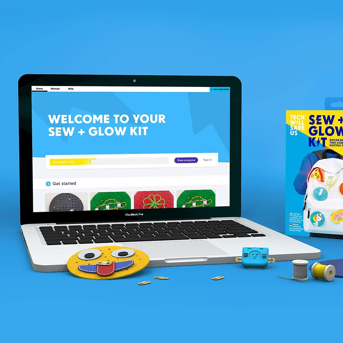 Tech Will Save Us Sew & Glow Education 5 Pack | For Teachers, Workshops and Schools