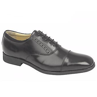 TredFlex Tredflex Genton Mens Lace Up Oxford Shoes Black