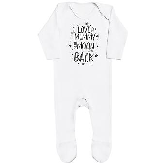 I Love My Mummy To The Moon And Back Baby Romper