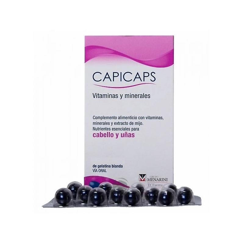 Capicaps Vitaminas Y Minerales Pack Oferta 120 Cápsulas