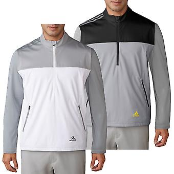 Adidas Golf Herre halv lynlås konkurrence vind sweater