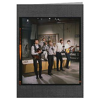 TV Times Rolling Stones TV Performance 1963 Greeting Card
