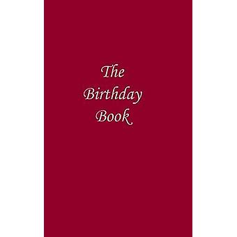 The Birthday Book  Dark Red by Bowman & Neil