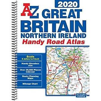 Groot-Brittannië Handy Road Atlas 2020 A5 spiraal