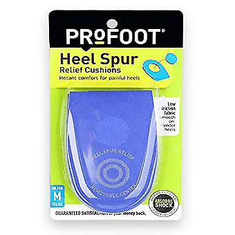 Profoot heel spur relief cushions, men's, fits all, 1 pair