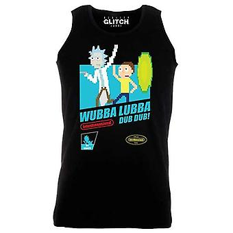 Män ' s Wubba lubba Dub Dub Rick & Morty Vest