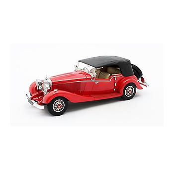 Mercedes Benz 540K Mayfair Tourer Closed Roof (1934) Resin Model Car