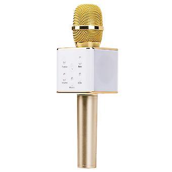 Bluetooth karaoke mikrofon med højttaler 3W