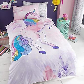Unicorn Childrens Single Duvet Cover