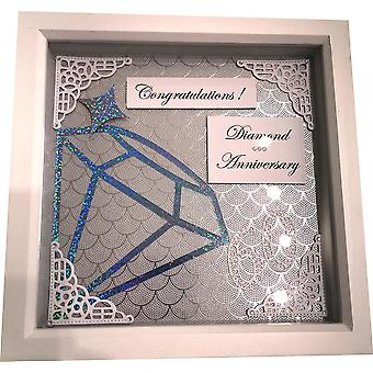 Frame 60th Diamond Anniversary by Sweet Pea Designs
