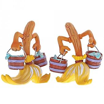 The World of Miss Mindy Presents Disney Fantasia Broom Figurine
