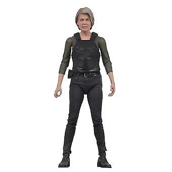 Terminator Dark Fate (2019) Actionfigur Sarah Connor Actionfigur aus Kunststoff, von NECA, in Geschenkkarton.