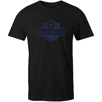 Paderborn 1907 gevestigde badge voetbal T-shirt