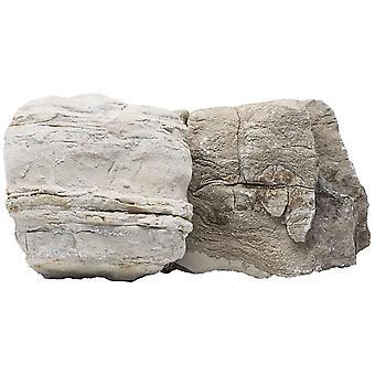 Ica Rock Jin Reddish Box 20 Kg (Fish , Decoration , Rocks & Caves)